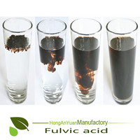 High Soluble Super Potassium Humate Flake / Powder /Granule From Peat Humic Acid