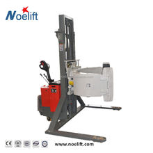 Material Handling Equipment 2ton roll pallet stacker with Paper roll clamp folder