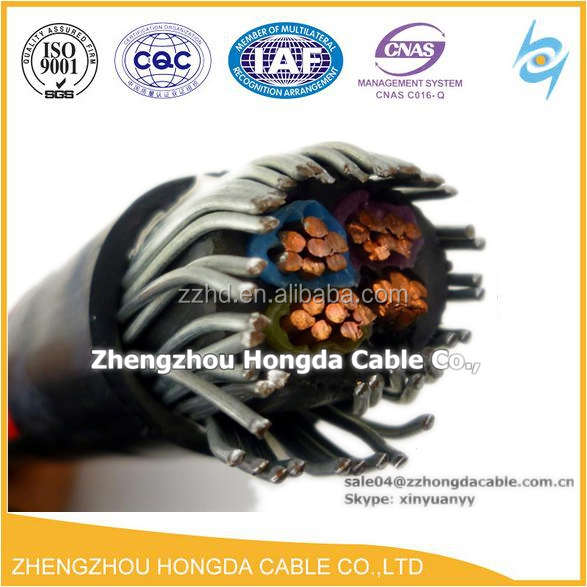 Low voltage underground armoured cable 16mm2 4 core armour cable