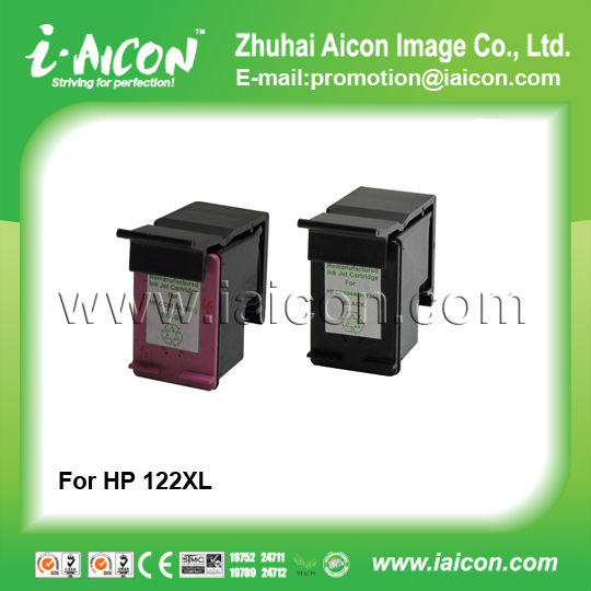 Remanufactured for hp 122 122XL ink cartridge