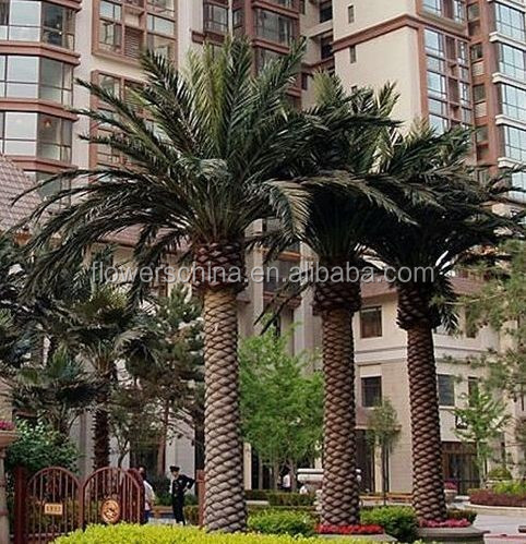 Decorative Artificial Outdoor Palm Trees Plants For Sale