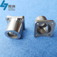 Manufacturer custom made high quality stainless steel square tube flange