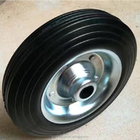 China high quality safety factory wholesale solid rubber wheel