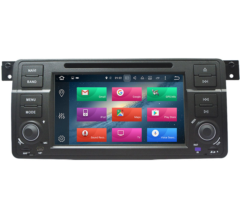 "Quad Core <strong>Android</strong> 9.0 7"" Car DVD for BMW E46 M3 car dvd gps for E46 M3 with WIFI Navi Radio Bluetooth Phonelink"