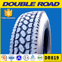 China Double Road 11r22.5 12r22.5 13r22.5 truck tire wholesale