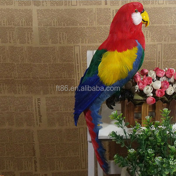 2014 Best Selling Real Plush Toy Stuffed Wild Animal parrot animation