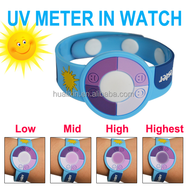 Wholesales UV Tester/ UV Dectoe Watch /UVwith PVC Mteraial/OEM