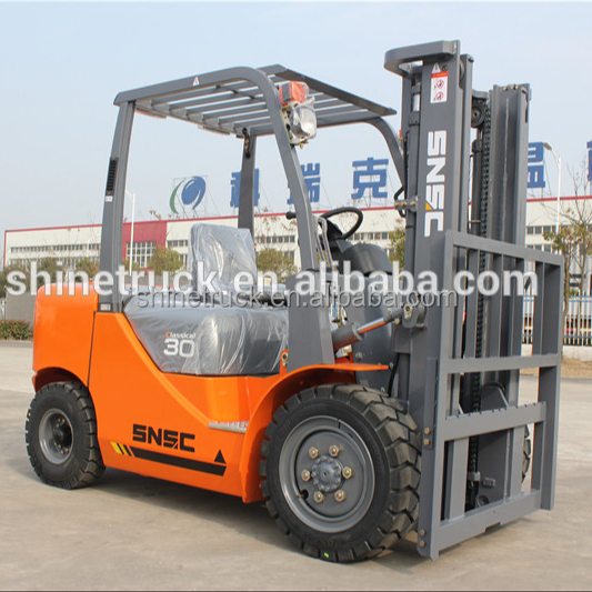 3ton diesel forklift with USA EATON steering gear
