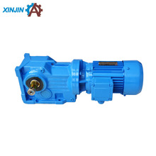 Industrial K107, K137 series bevel gear electric motor with reduction gear