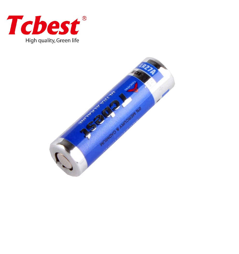 Tcbest Battery long lifetime 12v 27a a27 alkaline battery l828