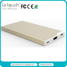 mobile accessories emergency backup 5000mah li-polymer type c battery supply for mobile phone