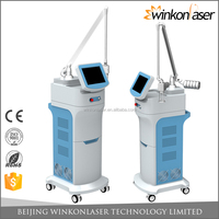 2016 factory price 50w imported fractional CO2 laser machine for skin rejuvenation