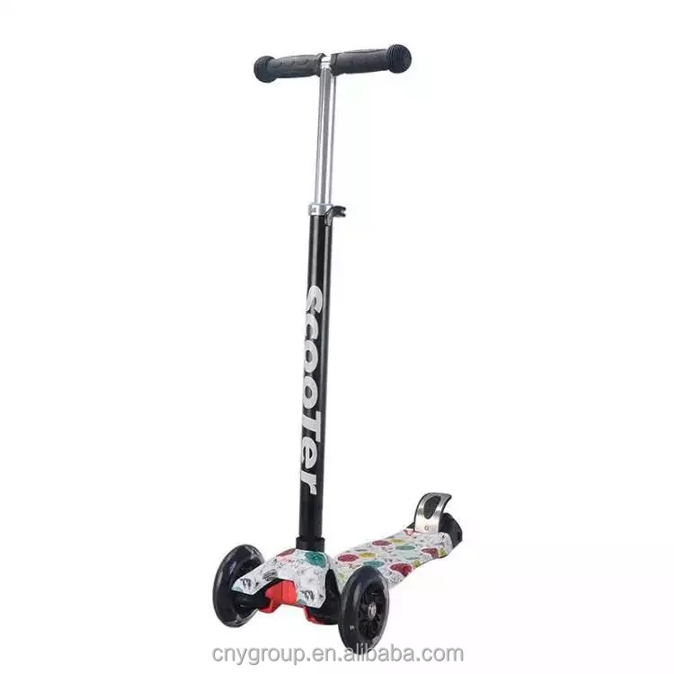 Alibaba china factory cheap price plastic kids toy scooter 3 wheel