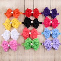 New design baby headband with flower