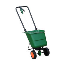 garden tool Fertilizer spreader with plastic tray