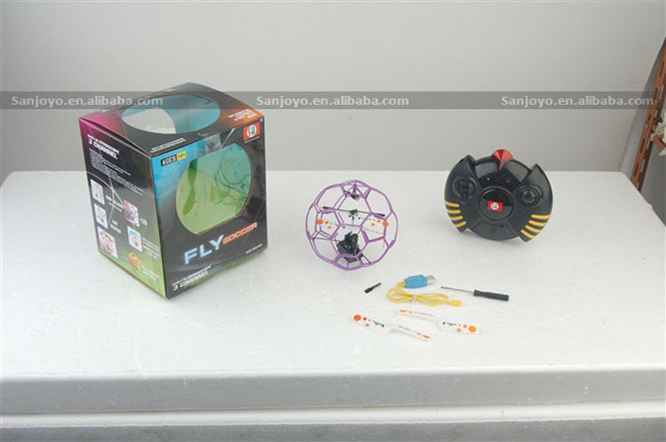 3.5ch rc flying ball with gyro fly soccer RC Flying Ball 6042 RC Helicopter