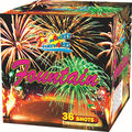 Factory price cake fireworks 1.2' 36Shots fountain M616-36B