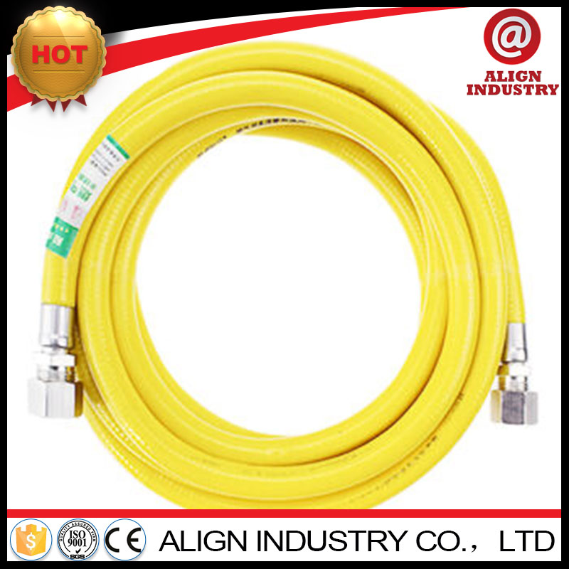 fuel resistant rubber and pvc hose nylon reinforced fuel tube
