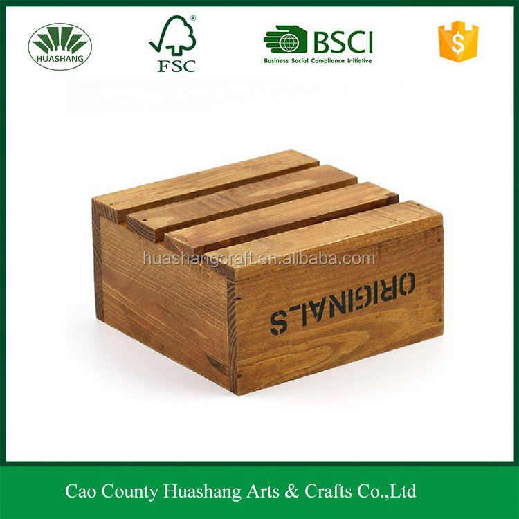 Chinese Imports wooden crate box miniature tea sets for storaging