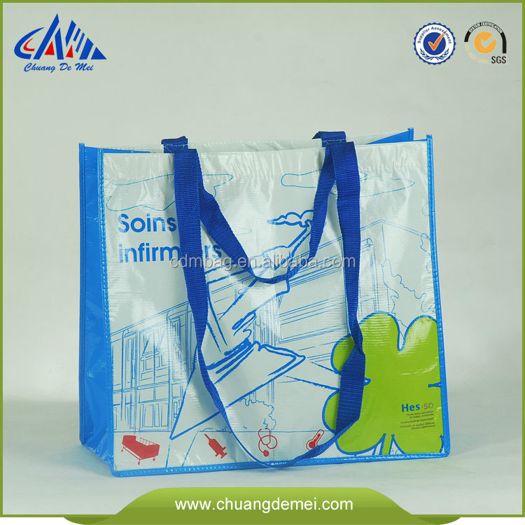 100% eco friendly bags made from recycled plastic bottles