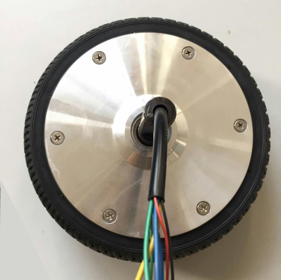 2017 new arrival ! hub motor 10 inch wheel single side shaft dc motor