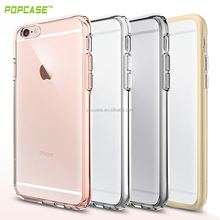 2016 Newest High Quality Ultra thin Transparent PC and Tpu Case For Iphone 6