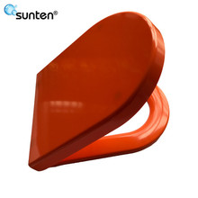 Xiamen Sunten Urea Material Orange Toilet Seat Covers Factory