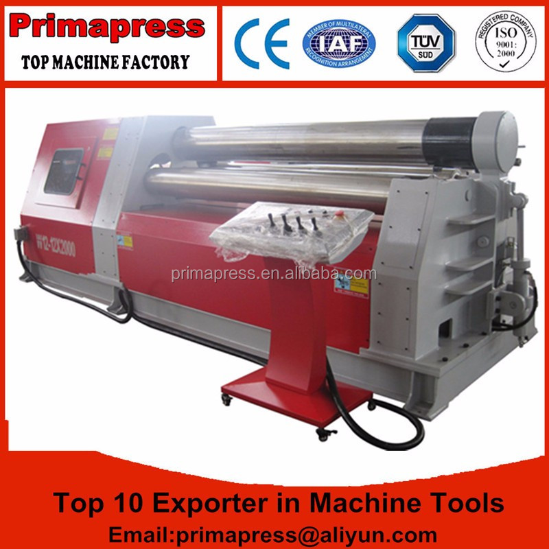 Made in China high quality <strong>W12</strong> Iron plate CNC <strong>rolling</strong> <strong>machine</strong> with low cost