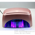 60W nail lamp led timer uv led machine for nail gel ccfl led nail lamp