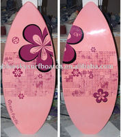 Hot sale women skimboard epoxy SUP board women surfboard