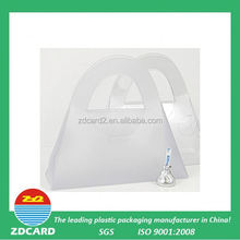 ZDcardtech ltd hot sell promotion clear plastic round cake box with high quality