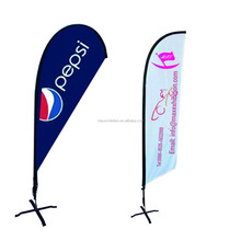 Promotional custom printing banner feather beach flag,Teardrop Banner Flag with good quality and cheap price