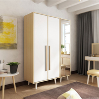 Asian China Factory Wholesale Bedroom Wardrobe