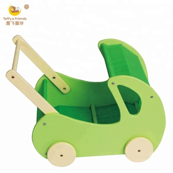 Wooden Kids Toy Cart Toy Trolley