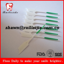Teeth cleaning soft PTE interdental brush