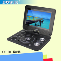 manufacture wholesale OEM nice quality USB Mini Laptop Portable DVD Player With Digital TV Tuner USB DVIX Format In Many Colors