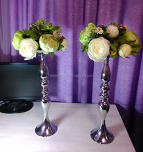 Antique sliver plated 50cm tall centerpiece wedding candelabra table centerpiece