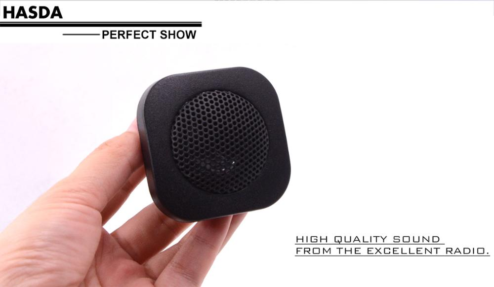 shenzhen supplier wholesale mini 1 inch marine speaker for atv utv golf cart sauna spa shower room