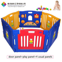 security foldable panels indoor outdoor play fence 6pcs for toddler baby