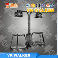 2016 hot sale shopping mall vr walker car racing game machine 9d cinema simulator