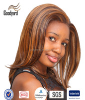 wholesale side part remy brazilian hair lace front wig for black man