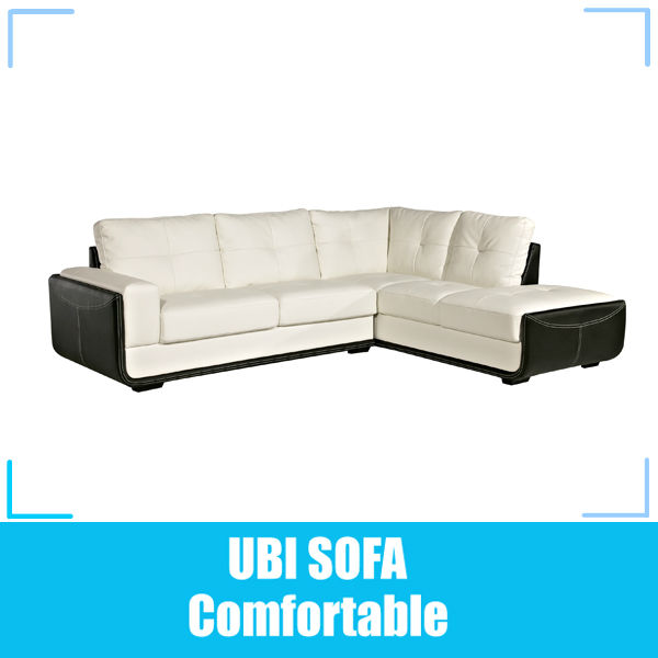 Promotion European Leather Corner Sofa made in Guangdong