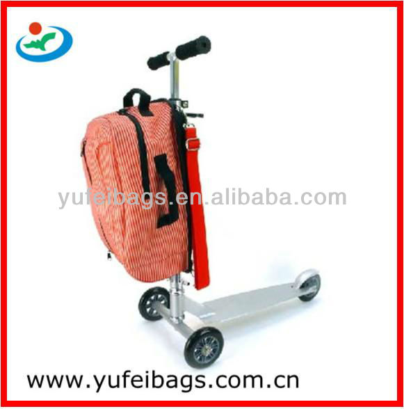 Scooter Trolley School Backpack Bag For Kids - Buy Scooter Trolley ...