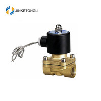 High Pressure and high temperature 2 way brass Solenoid Valve