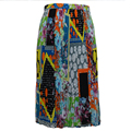 100% polyester Latest Summer women long pleated skirt