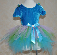 2015 baby girl fairy dress belly dance costume leotards girls fancy dress child ballet costume