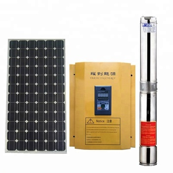 Hih pressure Solar Pump/Solar Powered Water Pumping installation for irrigation system