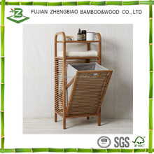 Bamboo storage holders foldable storage rack bamboo rack