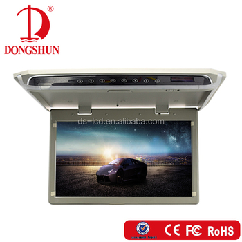 12v Dome light 14inch bus roof mounted led monitor hdmi