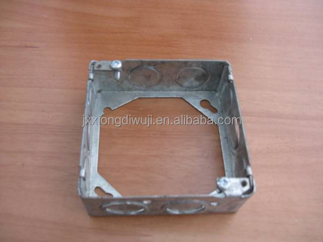 Canadian Style CETL Listed galvanized electrical iron box